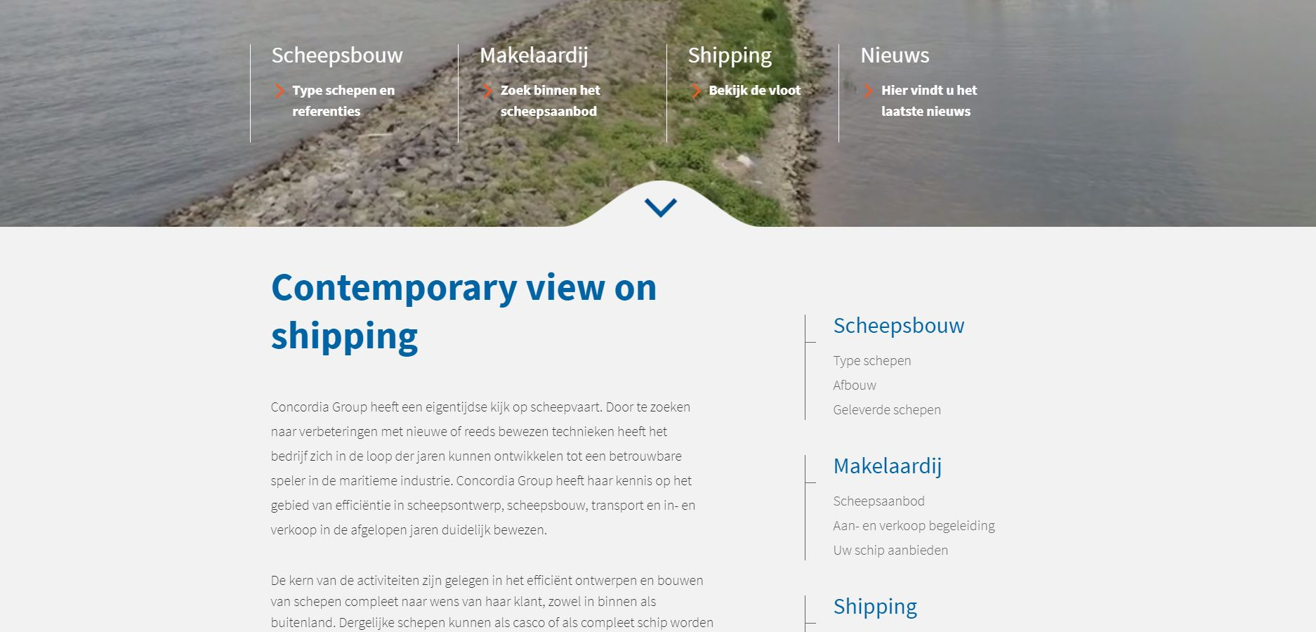 Nieuwe website Concordia Group Concordia Group